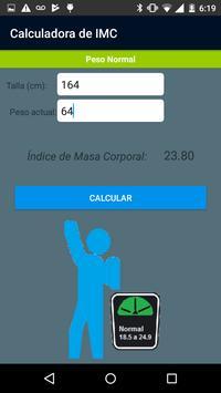 Calculadora de IMC screenshot 2