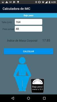 Calculadora de IMC screenshot 3