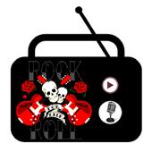 Rock fm radio music icon