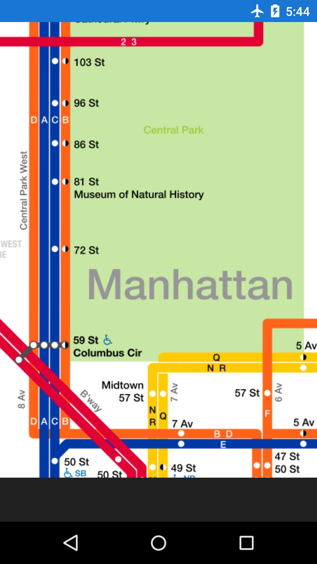 Subway Map From 88 St To 59th Street.Nyc Subway Map For Android Apk Download