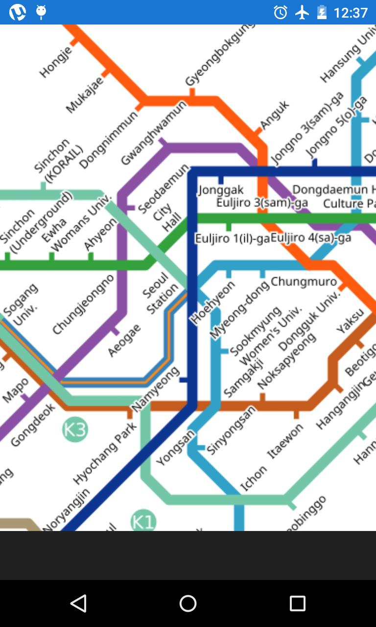 Seoul Subway Map Poster.Seoul Subway Map For Android Apk Download