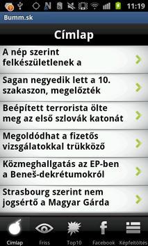Bumm.sk poster