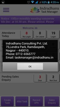 Indradhanu Task Manager screenshot 5