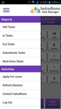 Indradhanu Task Manager screenshot 2