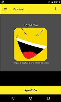 Bizarrices do ENEM poster