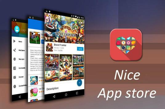 Free apps store poster