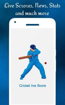 Cricket LIVEscores poster