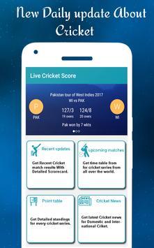 Cricket LIVEscores apk screenshot