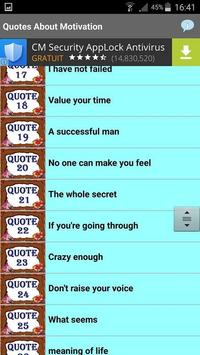 Quotes About Motivation screenshot 1