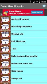Quotes About Motivation screenshot 2