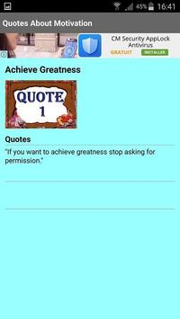 Quotes About Motivation screenshot 3