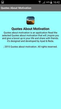 Quotes About Motivation screenshot 4