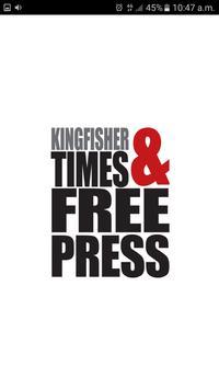 KT&FP News, Kingfisher Press poster