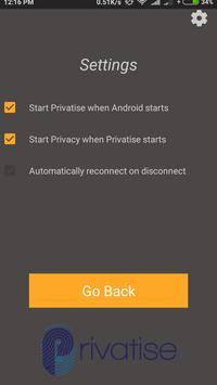Privatise screenshot 3