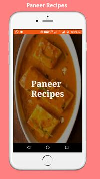 Paneer Recipes poster