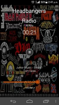 Headbangers Radio apk screenshot