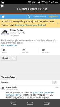 Otrux Radio apk screenshot