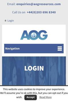 AOG Resources screenshot 1