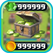 Gems to Clash Royale Prank '17 icon