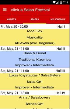 Vilnius Salsa Festival screenshot 1