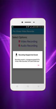 Pro Vimeo Video Recorder screenshot 3