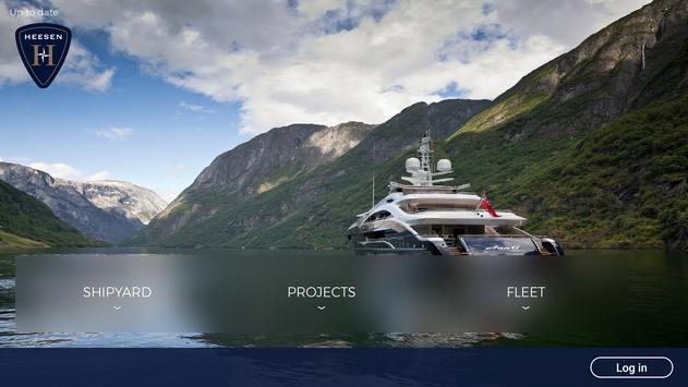 Heesen Yachts poster