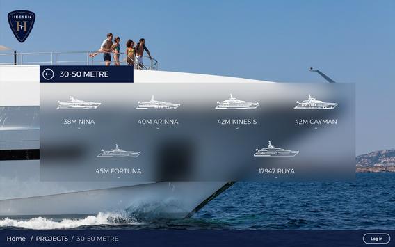 Heesen Yachts apk screenshot