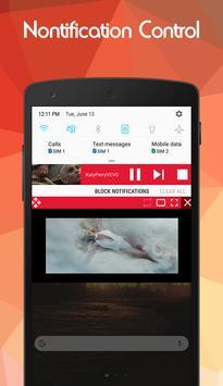 Floating Tube Player - Multitasking screenshot 3