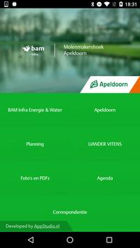 BAM Infra Apeldoorn poster