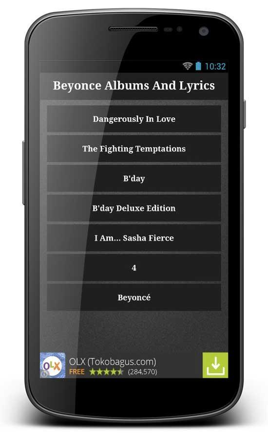 Beyonce 7 11 Songs Apps For Android Apk Download