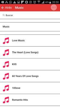 Music Love Song; Romantic Song Music Love Songs screenshot 1