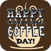 Happy Coffee Day icon