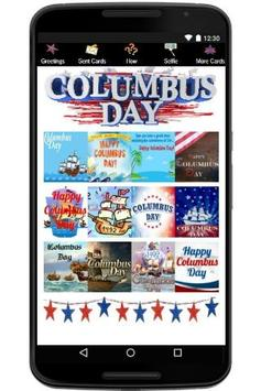 Happy Columbus Day / Indigenous Peoples' Day poster