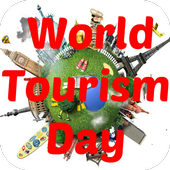 Happy World Tourism Day icon
