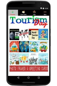 Happy World Tourism Day poster
