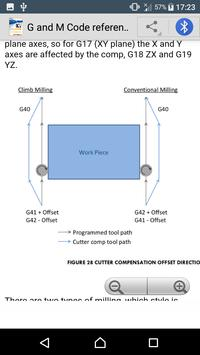 G & M Code Reference Manual [CNC Tutorials] apk screenshot