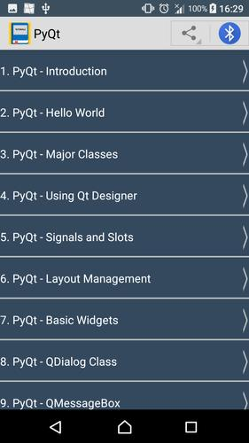 Guide To PyQt for Android - APK Download