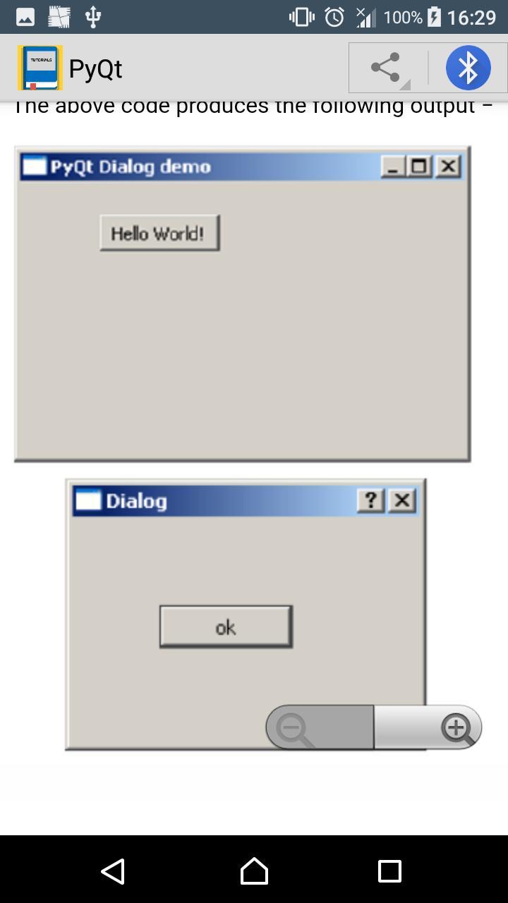 Pyqt5 File Dialog