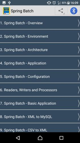 Guide To Spring Batch cho Android - Tải về APK