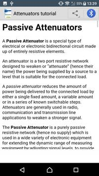 Learn Attenuator apk screenshot