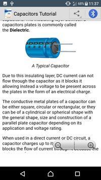 Learn Capacitors apk screenshot