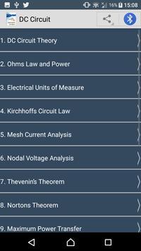 Learn DC Circuit screenshot 2