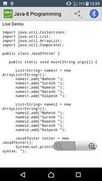 Learn Java 8 | Java-8 Tutorials screenshot 2