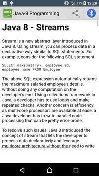 Learn Java 8 | Java-8 Tutorials screenshot 3