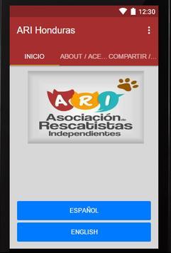 ARI Honduras poster
