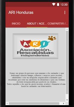 ARI Honduras screenshot 2