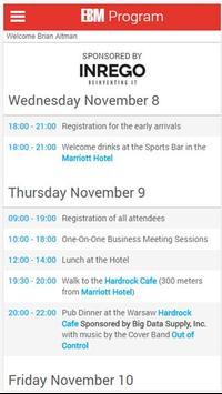 European Broker Meeting screenshot 2