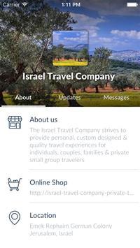 Israel Travel Company apk screenshot