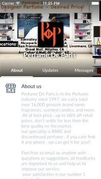 Perfume De Paris apk screenshot