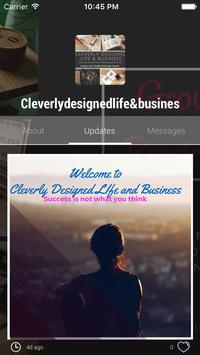 Cleverlydesignedlife&busines apk screenshot